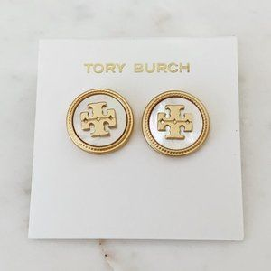 Tory Burch Mother Of Pearl Earrings